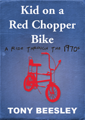 Kid On A Red Chopper Bike